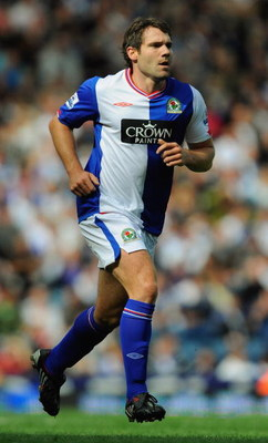 BLACKBURN, ENGLAND - AUGUST 29:  David Dunn of Blackburn during the Barclays Premier League match between Blackburn Rovers and West Ham United at Ewood Park on August 29, 2009 in Blackburn, England.  (Photo by Michael Regan/Getty Images)