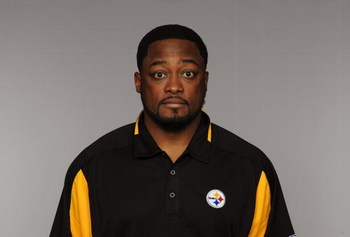 PITTSBURGH - 2009:  Mike Tomlin of the Pittsburgh Steelers poses for his 2009 NFL headshot at photo day in Pittsburgh, Pennsylvania.  (Photo by NFL Photos)