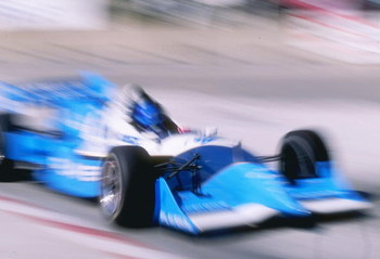 8 Jun 1997:  Greg Moore of Canada drives his Reynard Mercedes 971 for teh Players Forsythe Racing Team during the ITT Automotive Detroit Grand Prix at Bell Isle in Detroit, Michigan. Mandatory Credit: David Taylor  /Allsport
