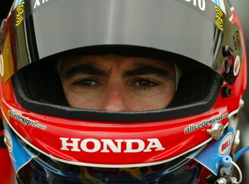SONOMA, CA - AUGUST 25:  Bryan Herta driver of the #7 XM Satellite Andretti Green Racing Dallara Honda, during practice for the IRL IndyCar Series Indy Grand Prix of Sonoma on August 25, 2006 at the Infineon Raceway in Sonoma, California.  (Photo by Gavin