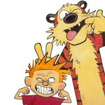 Derek and Hobbes