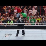 John Cena  AKA The Man Who Lost To The Rock At WMXXVIII and Got F5'ed The Night After