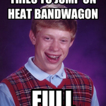 AVERAGE MIAMI HEAT FAN