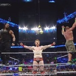 I like Sheamus Cena and Reigns are you not entertained