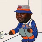 Depressed Knick Fan