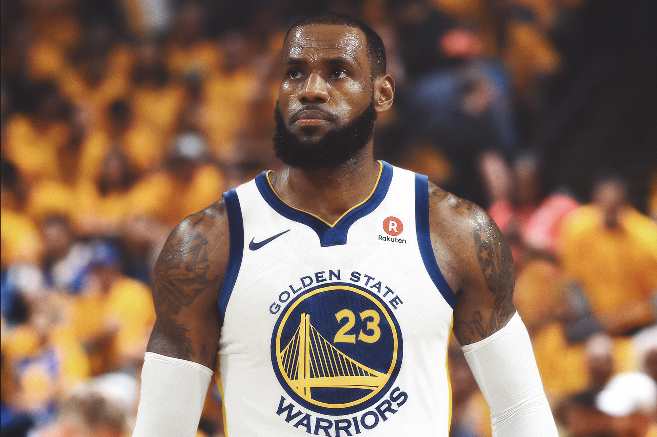 new styles 54d1a 4d428 LeBron Interested in Warriors | Bleacher Report | Latest ...