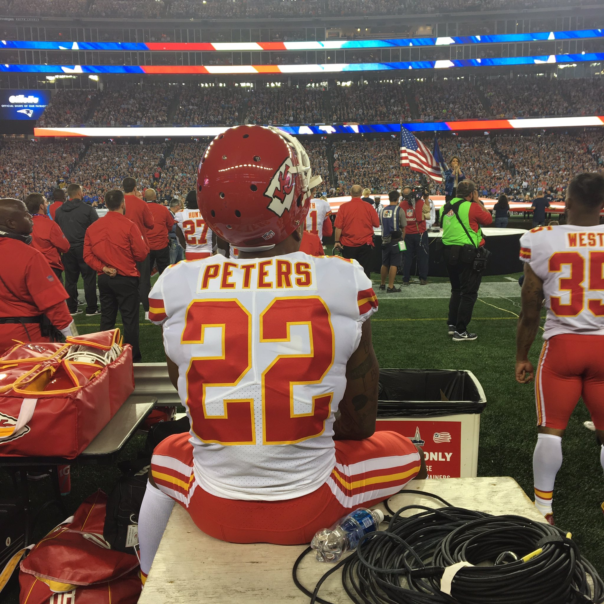 sports shoes d55a5 9992b Marcus Peters | Bleacher Report | Latest News, Videos and ...
