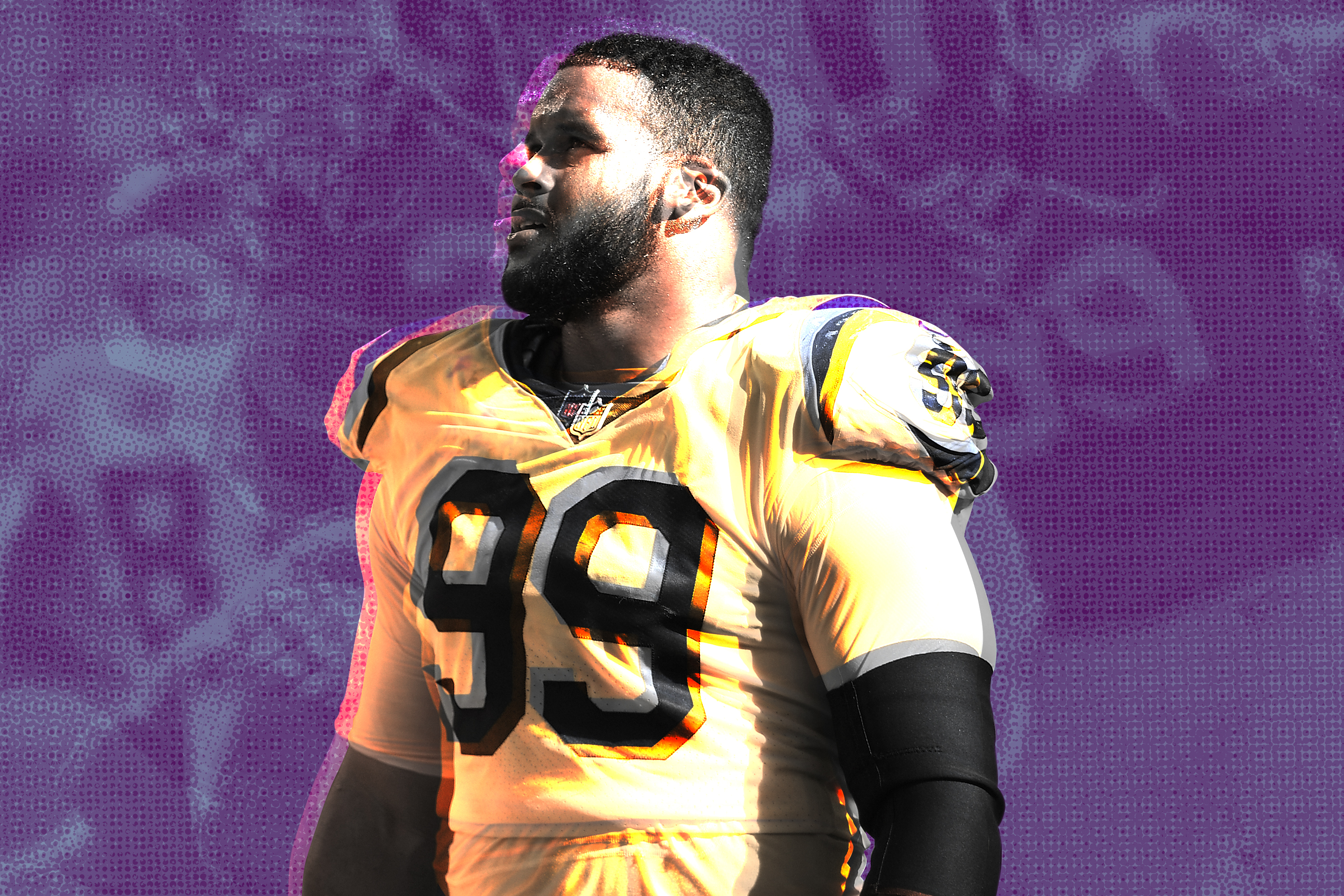 There S Nothing O Lines Can Do About Aaron Donald Bleacher Report Latest News Videos And Highlights