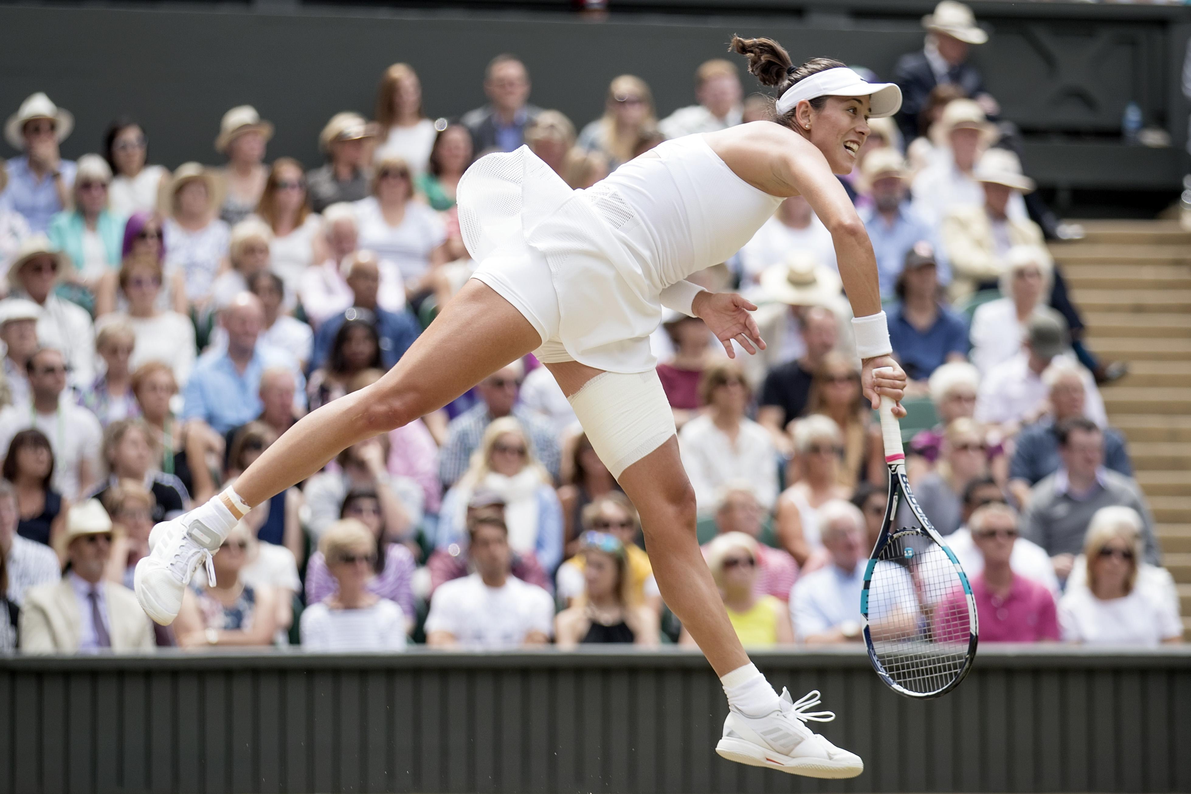 Wimbledon Williams Sisters Wow >> Garbine Muguruza Vs Venus Williams Live Updates Score Highlights