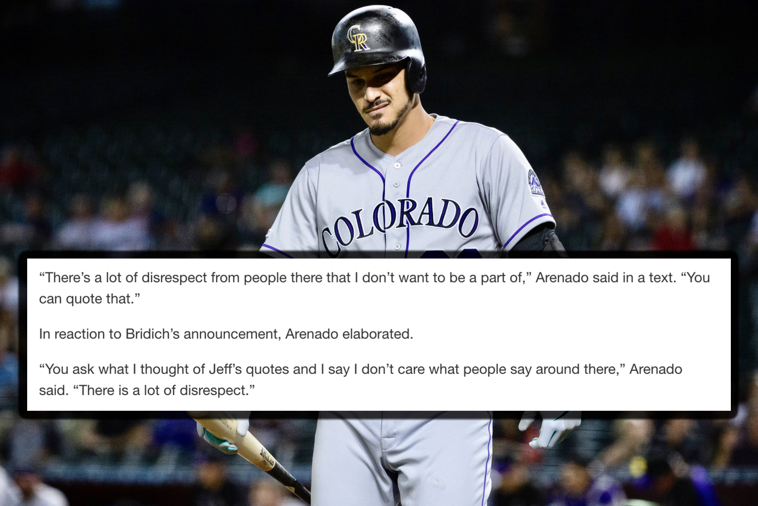 Image result for Arenado facepalm