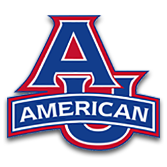 American University Basketball logo