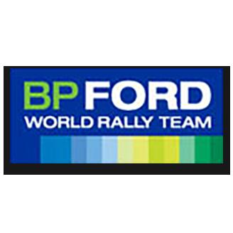 BP Ford Abu Dhabi World Rally Team logo