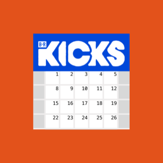 BR Kicks Release Calendar logo