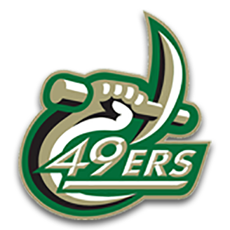 Charlotte 49ers Football logo