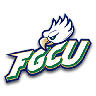 Florida Gulf Coast Basketball logo