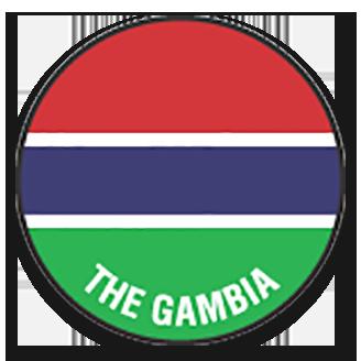 Gambia (National Football) logo