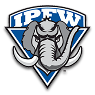 IPFW Basketball logo