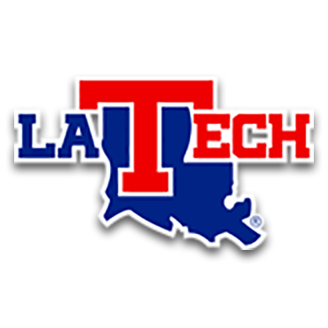 Louisiana Tech Basketball logo