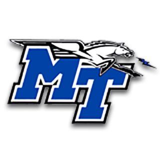 Middle Tennessee State Basketball logo
