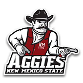 New Mexico State Basketball logo