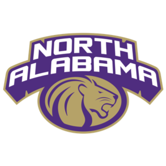North Alabama Basketball logo