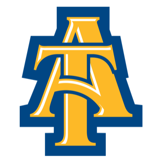 North Carolina A&T Basketball logo