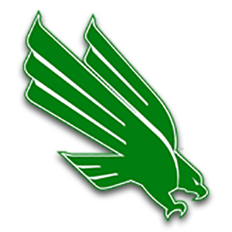 North Texas Basketball logo