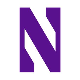 Northwestern Basketball logo