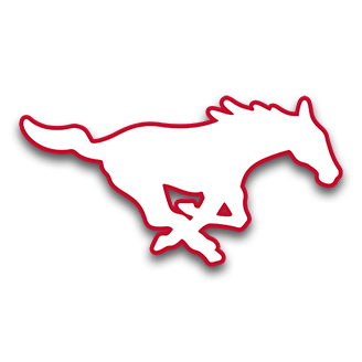 SMU Mustangs Football logo