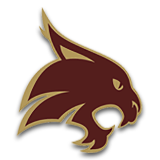 Texas State Basketball logo