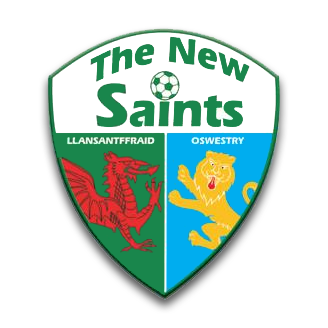 Oswestry / Croesoswallt, Shropshire, Wales The New Saints FC logo