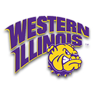 Western Illinois Basketball logo