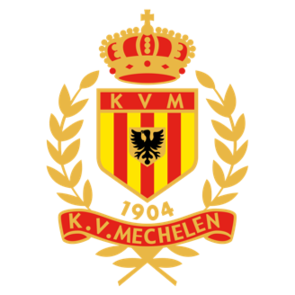 Yellow-Red KV Mechelen logo