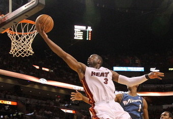 Dwyane Wade soared to his best game of the season against the Wizards.
