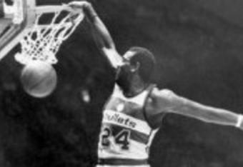 Haywood with the Washington Bullets