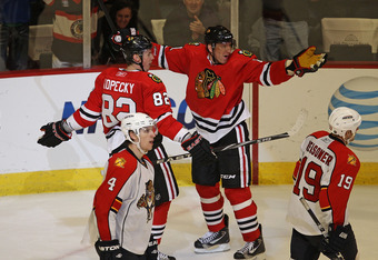 Kopecky and Marian Hossa came to the Blackhawks in the summer of 2009.  How important has that tandem been to each player?
