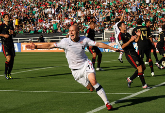 Michael Bradley go the first of two quick goals for the Americans, but defense ruined the golden moment.