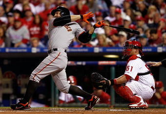"Many say Cody Ross' peformance in the 2010 postseason is the embodiment of ""lightning in a bottle"". He's just part of what we call Giants Baseball."