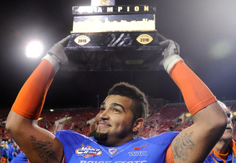 Billy Winn, defensive lineman, Boise State