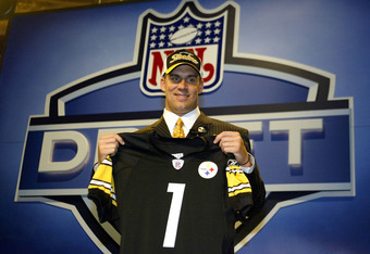 The Steelers lucked out when Big Ben Roethlisberger fell to them at pick #11.