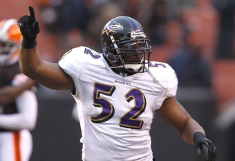 Ray Lewis has been the prototype for the dominant middle linebacker for years. He has to slow down sometime, but he hasn't yet