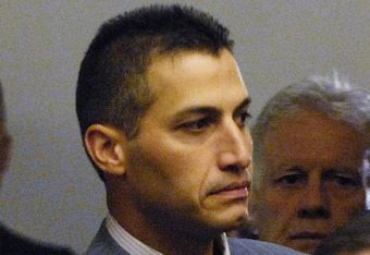 WASHINGTON - FEBRUARY 04:  New York Yankees pitcher Andy Pettitte (C) arrives to be deposed by the House Oversight and Government Reform Committee about what he knows about steroid use in Major League Baseball, February 4, 2008 in Washington. Pettitte adm