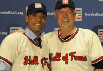 2011 Player Inductees, Roberto Alomar and Bert Blyleven.
