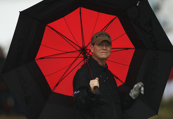 Tom Watson embraced the elements.