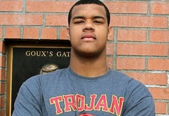 Arik Armstead is the top DE in the 2012 recruiting class and a USC commit