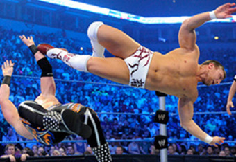 Heath Slater was the first victim of Mr. Money in the Bank, Daniel Bryan!