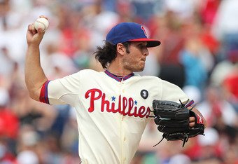 PHILADELPHIA - JUNE 12: Relief pitcher Michael Stutes #40 of the Philadelphia Phillies throws a pitch during a game against the Chicago Cubs at Citizens Bank Park on June 12, 2011 in Philadelphia, Pennsylvania. The Phillies won 4-3. (Photo by Hunter Marti