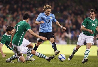 At 32, Diego Forlan's playing the best soccer of his career.