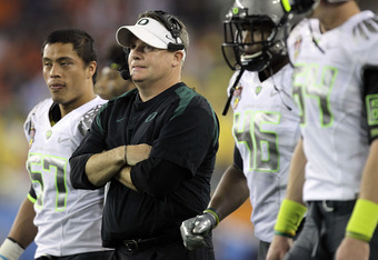 Chip Kelly, head coach, University of Oregon