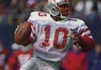 Walter Lewis in the USFL